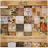 "Idea-Ology Paper Stash Carta decorativa 8""X8"" 36/Sheets-Collage"