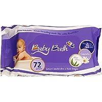 Baby Bath Lenços Umedecidos, Branco