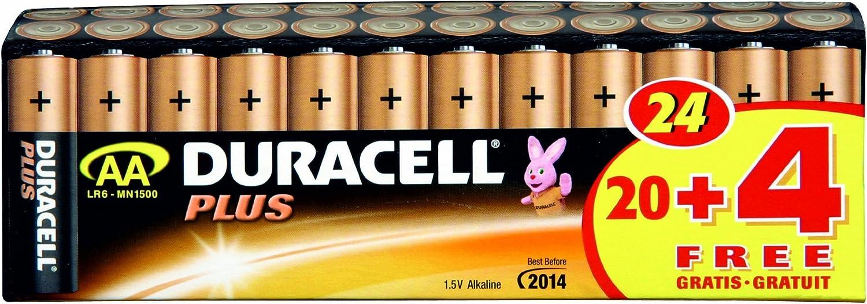 Duracell Batterie Plus Mignon Aa 20er 4 Gratis Elektronik