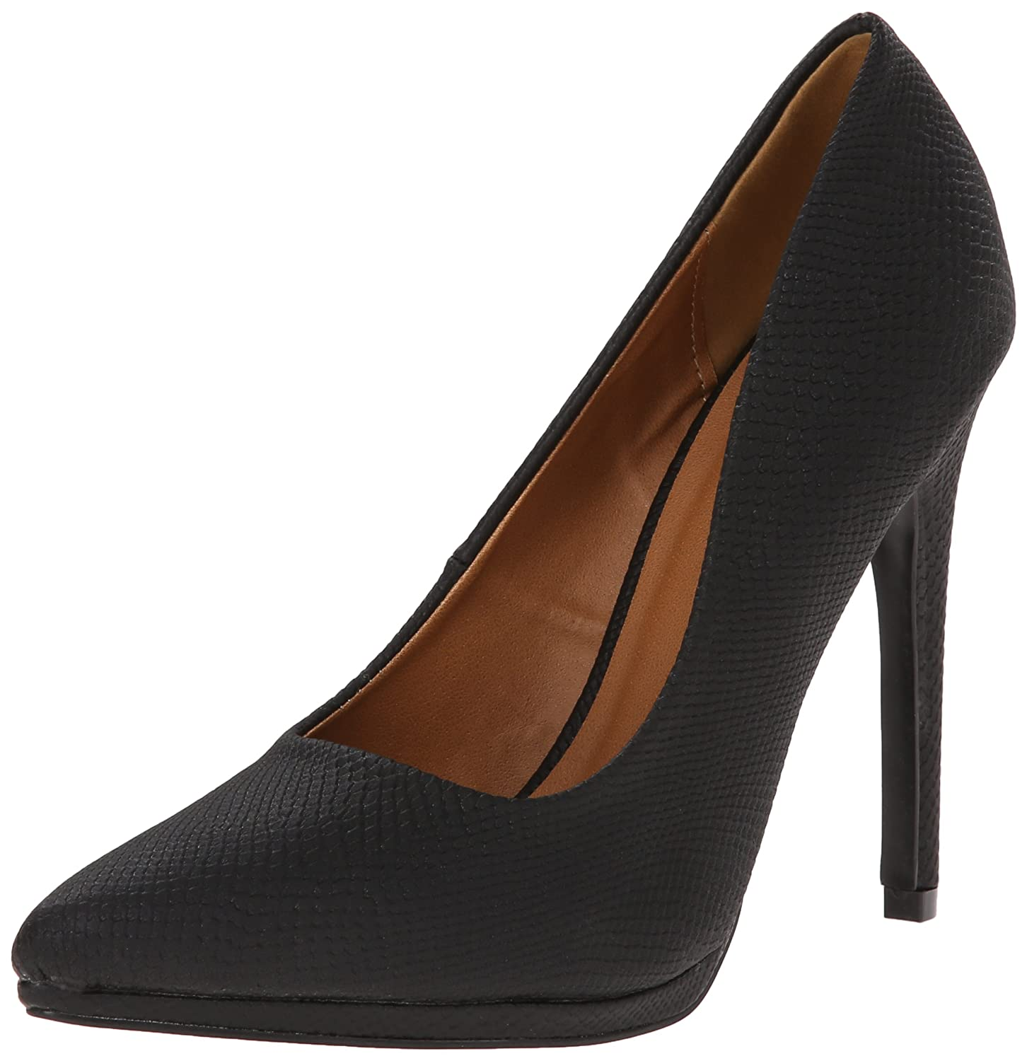 Qupid Women's Virtue-15 Dress Pump B00NIKFXWO 7 B(M) US|Black
