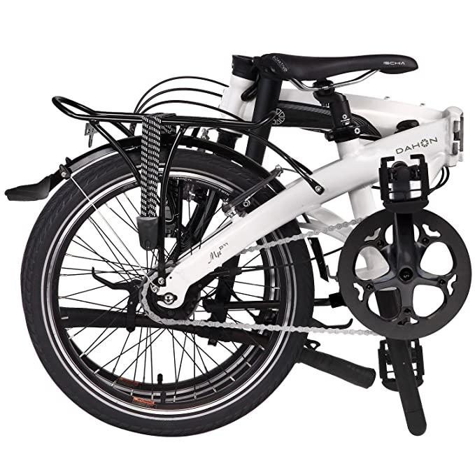 Dahon MU P11 Bicicleta Plegable, Blanco, 20