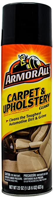 carpet upholstery cleaner. armor all 78091 carpet and upholstery cleaner - 22 oz. .