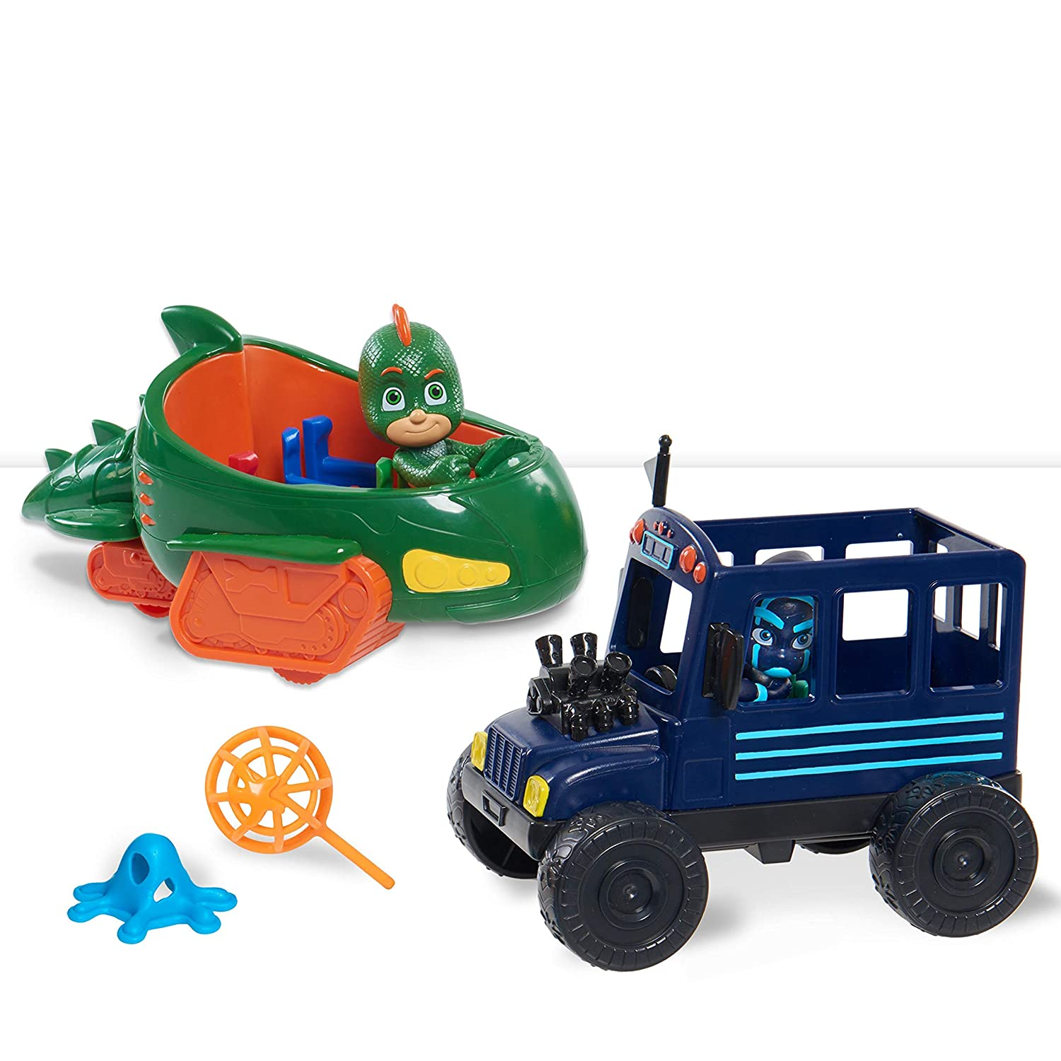 PJ Masks Hero vs. Villain Vehicles- Gekko & Ninja
