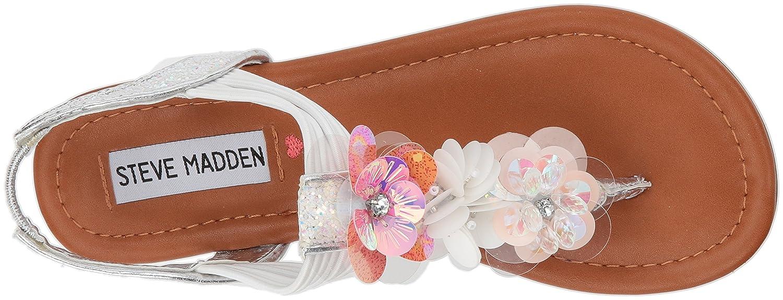 8b75d5f33b5d Steve Madden Kids  Jblossom Flat Sandal  Amazon.co.uk  Shoes   Bags