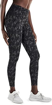 CRZ YOGA Women's Hugged Feeling High Waist Workout Leggings with Pocket-25 Inches