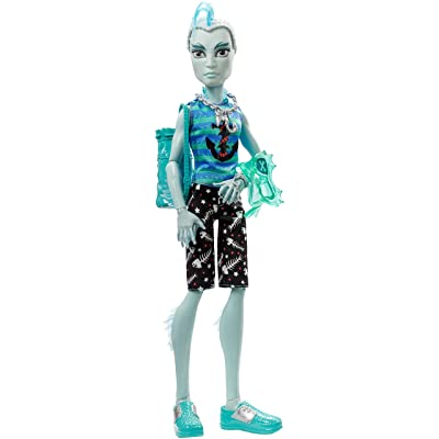 "Monster High Shriekwrecked Shriek Mates Gillington ""gil"" Webber Doll: Toys & Games"
