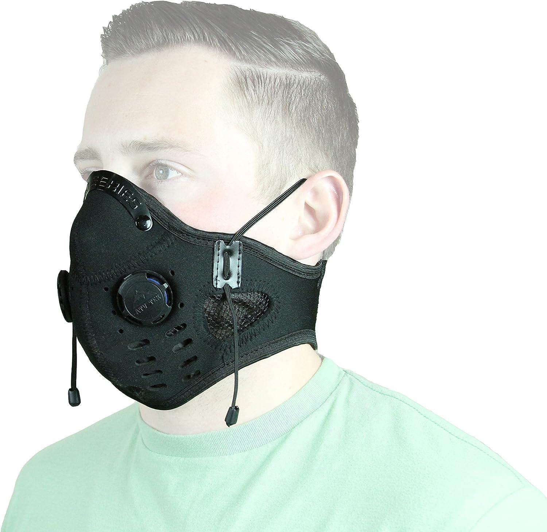 ATV Tek Black Neoprene Dust Mask EDMBLK