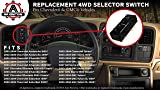 4WD Selector Switch, 4x4 - Fits Chevy