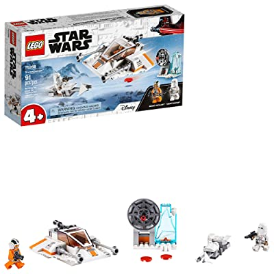 LEGO Star Wars Snowspeeder 75268 Starship Toy Building Kit; Building Toy for Preschool Children Ages 4+, New 2020 (91 Pieces): Toys & Games