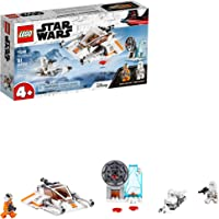 LEGO Kit de construcción de Nave Espacial de Juguete Star Wars™ 75268 Speeder de Nieve (91 Piezas)