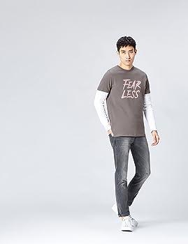 FIND Camiseta Mensaje para Hombre