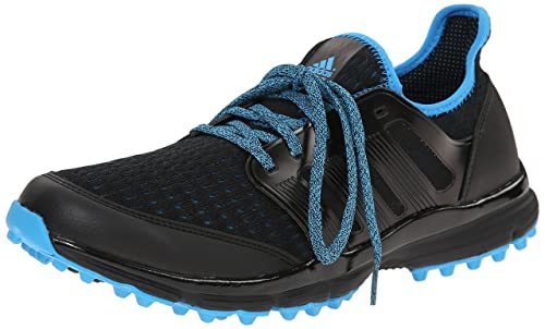 adidas Men's Climacool Golf Shoe, Core BlackCore BlackCyan