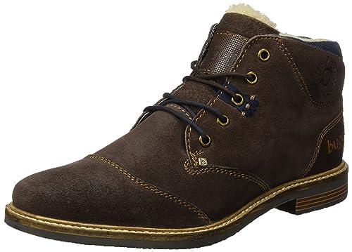 Mens 313400303000 Desert Boots, Brown, 6 UK Bugatti
