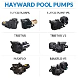 Hayward W3SP2600X5 Super Pump Pool Pump, 0.50 HP