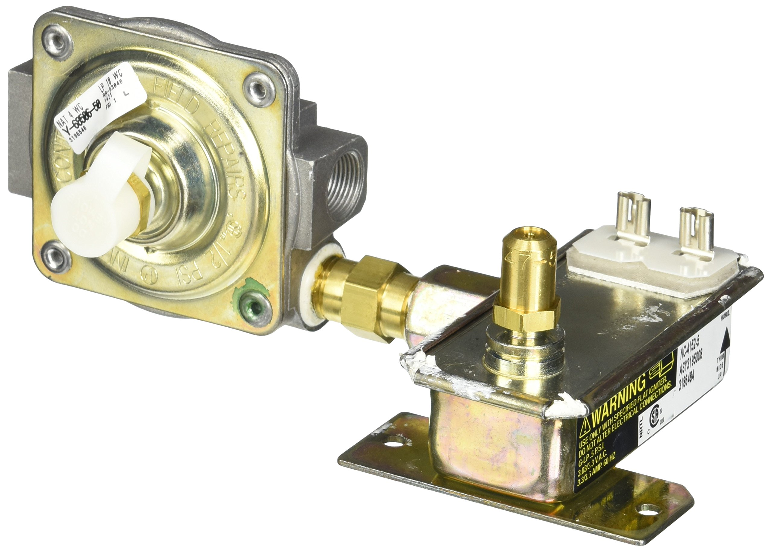 Whirlpool Part Number 3195008: Valve, Gas Combo