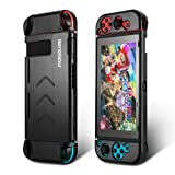 Nintendo Switch Case Kit, BeneGlow Portable Aluminium Hard Protective Travel Carry Case Shell Pouch for Nintendo Switch and Joy-Con