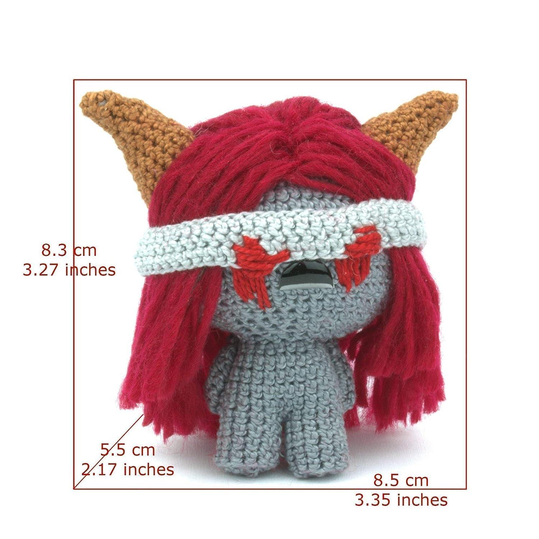 Amazon.com: Crochet Isaac Amigurumi Plush, Handmade Figure Gift ...   1500x1500