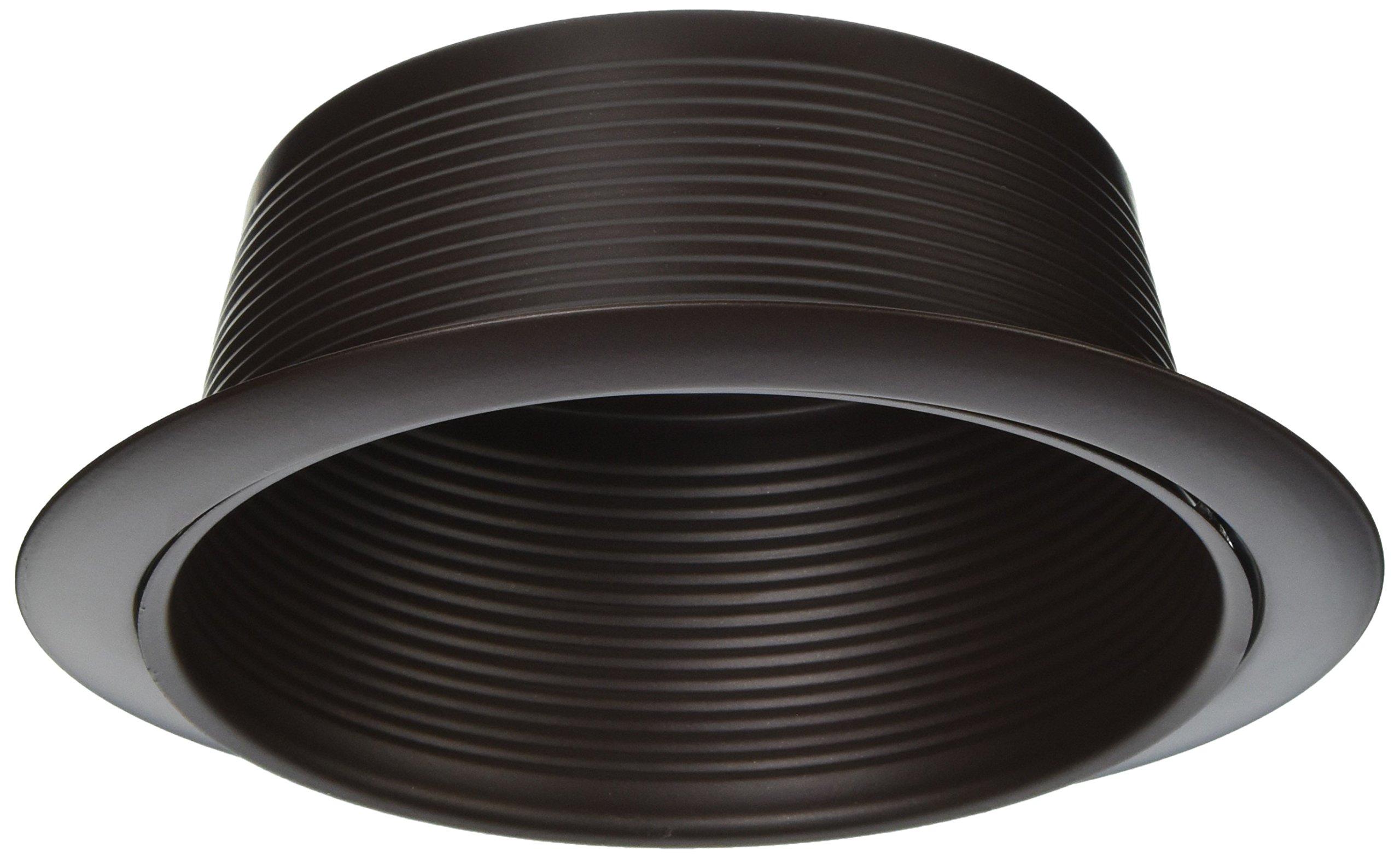 NICOR Lighting 6-Inch Baffle Lighting Trim, Oil-Rubbed Bronze (17510OB-OB)