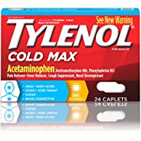 24-Count Tylenol Cold Max Daytime Caplets