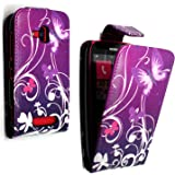 For Nokia lumia 610 Various New Designs Printed Pouch Pu Leather Magnetic Flip Case Cover + Stylus