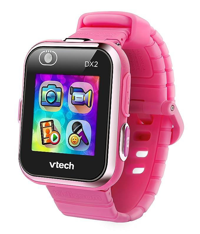VTech Kidizoom Smart Watch DX2 - Reloj inteligente para niños, color rosa, versión Alemana (80-193854)