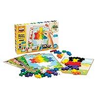 Plus-Plus BIG - BIG Picture Puzzles, Basic Color Mix - Construction Building Stem Toy, Interlocking Large Puzzle Blocks for Toddlers and Preschool