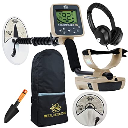 Amazon.com : Whites Goldmaster 24k Export Metal Detector with 2 Search Coils, Backpack & More : Garden & Outdoor