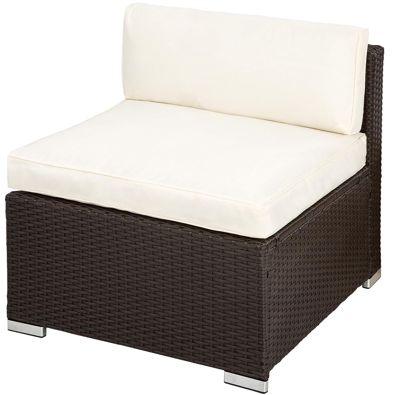 Amazon.de: TecTake Hochwertige Luxus Lounge Poly-Rattan Sitzgruppe ...