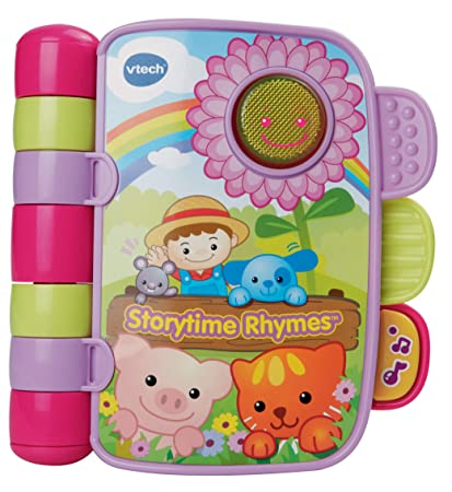 Amazoncom Vtech Storytime Rhyme Pink Toys Games