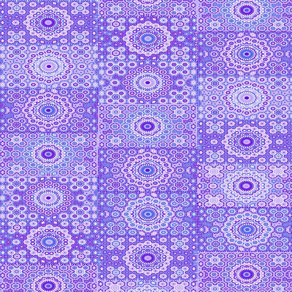 3 Unidades Decopatch Papel Decorativo 395 x 298 mm de Tubo de Flores y dise/ño de c/írculos Azul