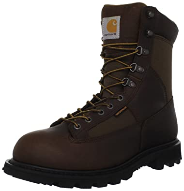 Carhartt Mens CML8150 8 Low Work Boot,Camel Brown Oil Tanned,8 ...