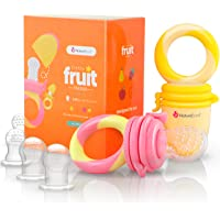 2- Pk NatureBond Baby Food Feeder Infant Teething Toy
