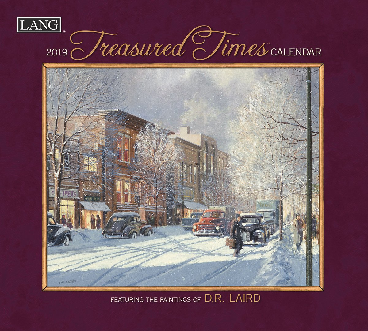 Amazon.com : The LANG Companies Treasured Times 2019 Wall Calendar  (19991001882) : Office Products