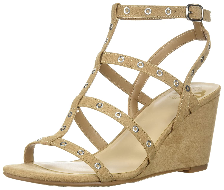 Fergalicious Women's Empire Wedge Sandal B07617HYZD 9 B(M) US|Beige