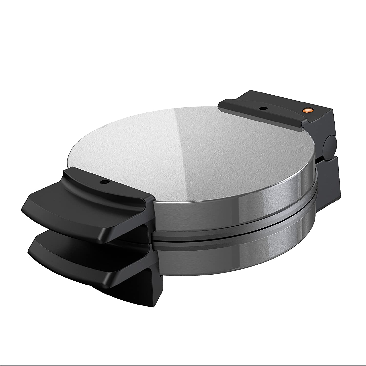 BLACK DECKER Belgian Waffle Maker, Stainless Steel, WMB500