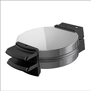 BLACK+DECKER Belgian Waffle Maker, Stainless Steel, WMB500