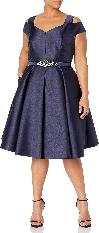 Eliza J Womens Plus Size Cold Shoulder Maxi Dress Casual Dress