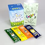 Moo Free Original Organic Egg and Mini Moos Easter Collection - By Moreton Gifts - Easter Pouch - Dairy Free, Gluten Free, Vegan, No GM