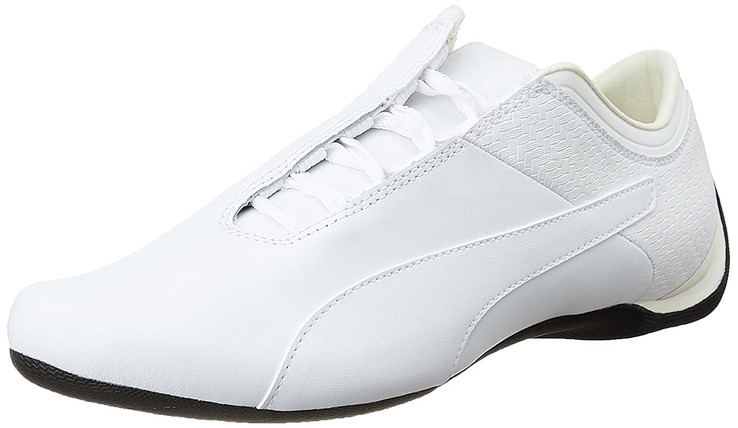Puma Men s Future Cat M1 Citi Pack Puma White Leather Sneakers - 11 UK India  (46 EU)  Buy Online at Low Prices in India - Amazon.in 08a8c3074