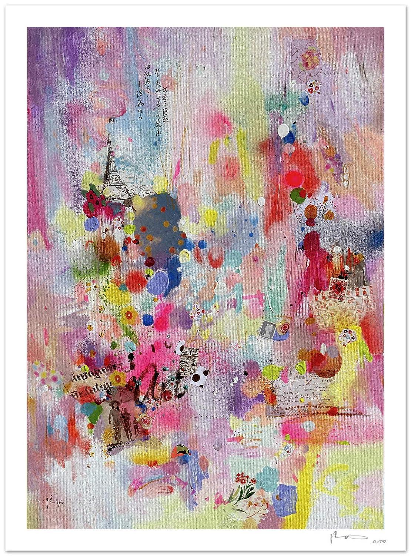 Reproducción de arte - Art I - sobre papel de acuarela 300g/m² con ...