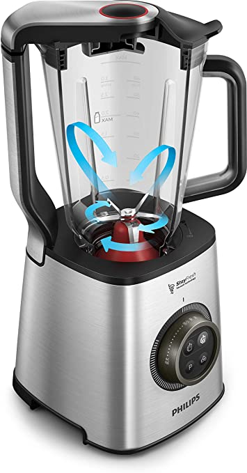 Philips Avance HR3752/00 - Batidora de Vaso, 1400 W, 35 000 RPM ...
