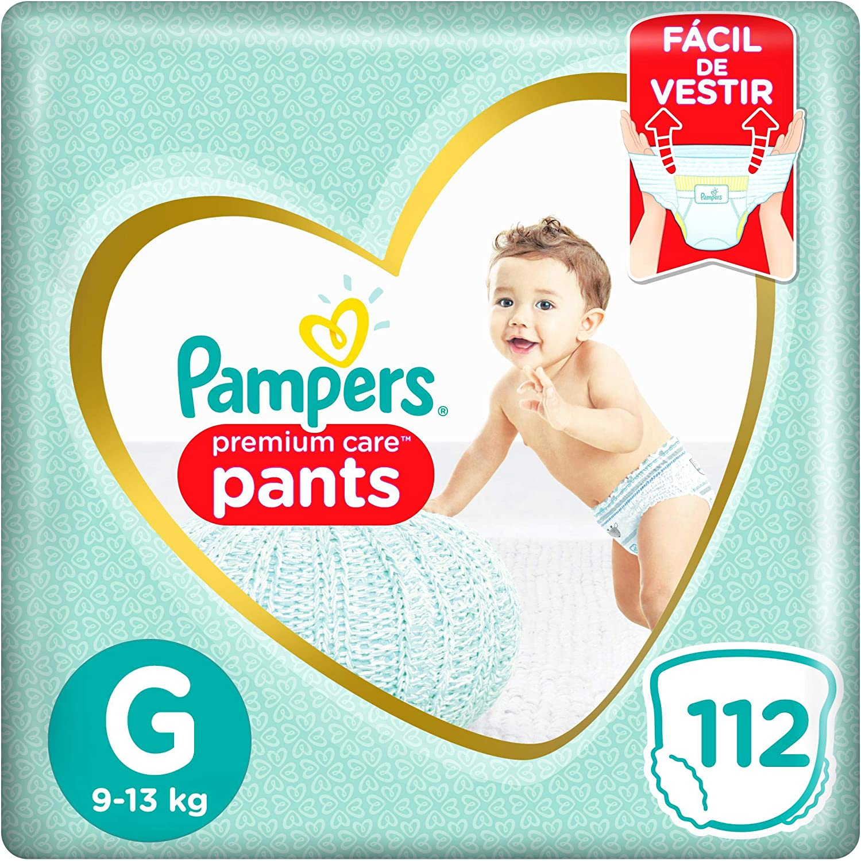 [Parcelado] [Recorrente] Fralda Pampers Premium Care Pants G - 112 unidades