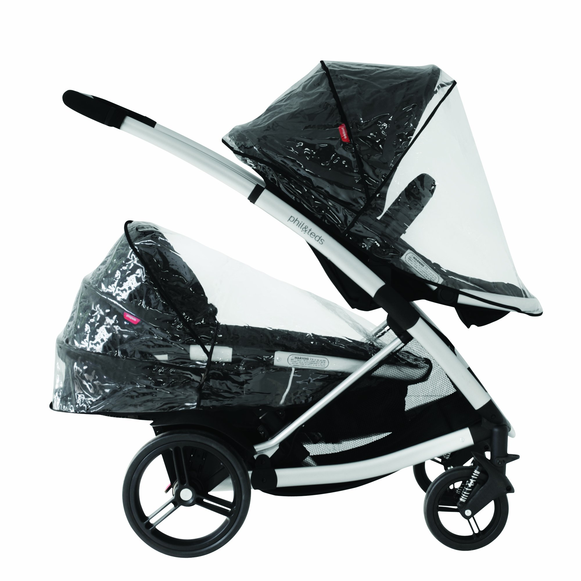 phil&teds Storm Cover for Promenade, Smart Lux and Mountain Buggy Cosmopolitan Strollers