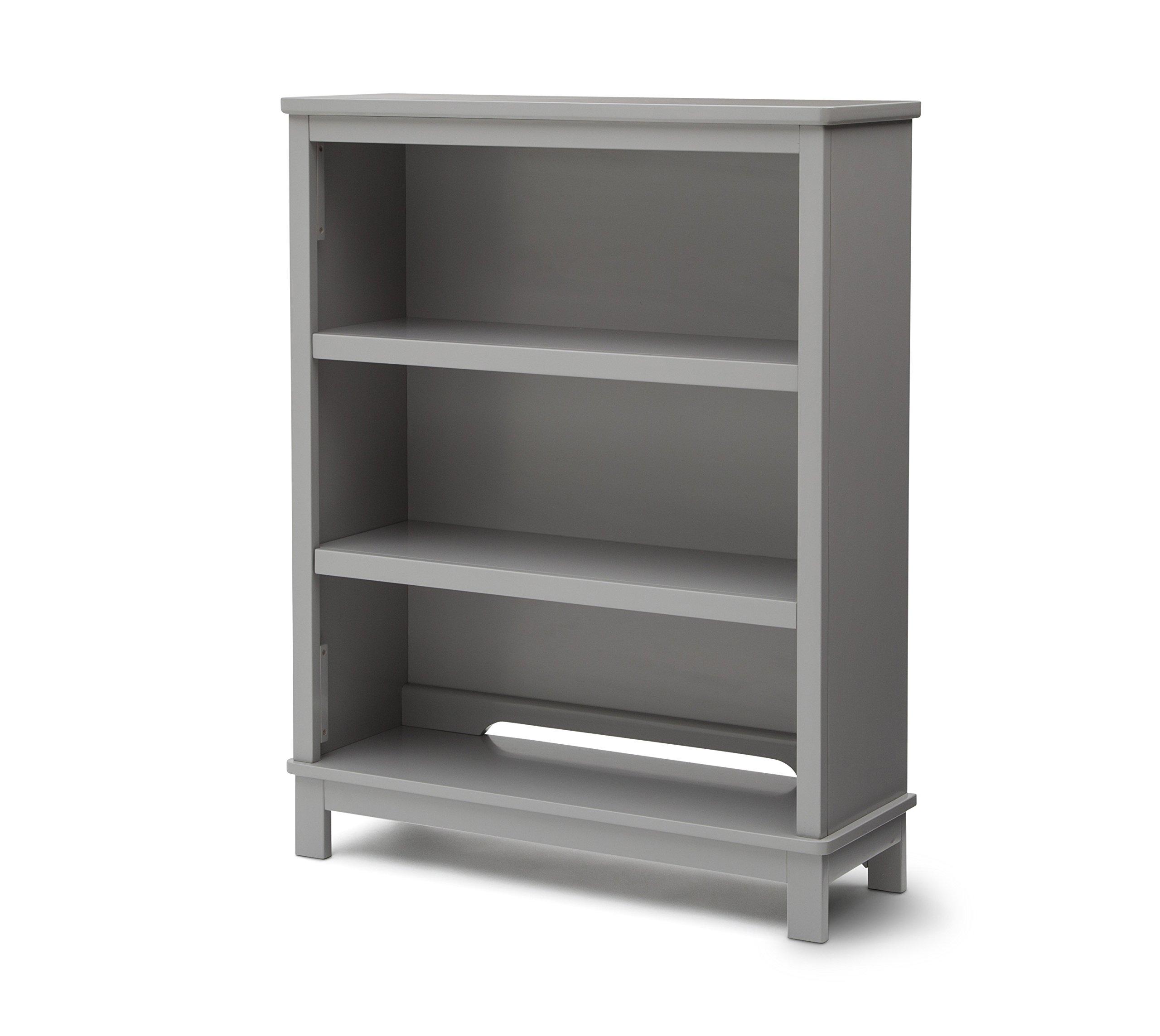 Delta Children Epic Bookcase / Hutch For Books and Toys - Grey