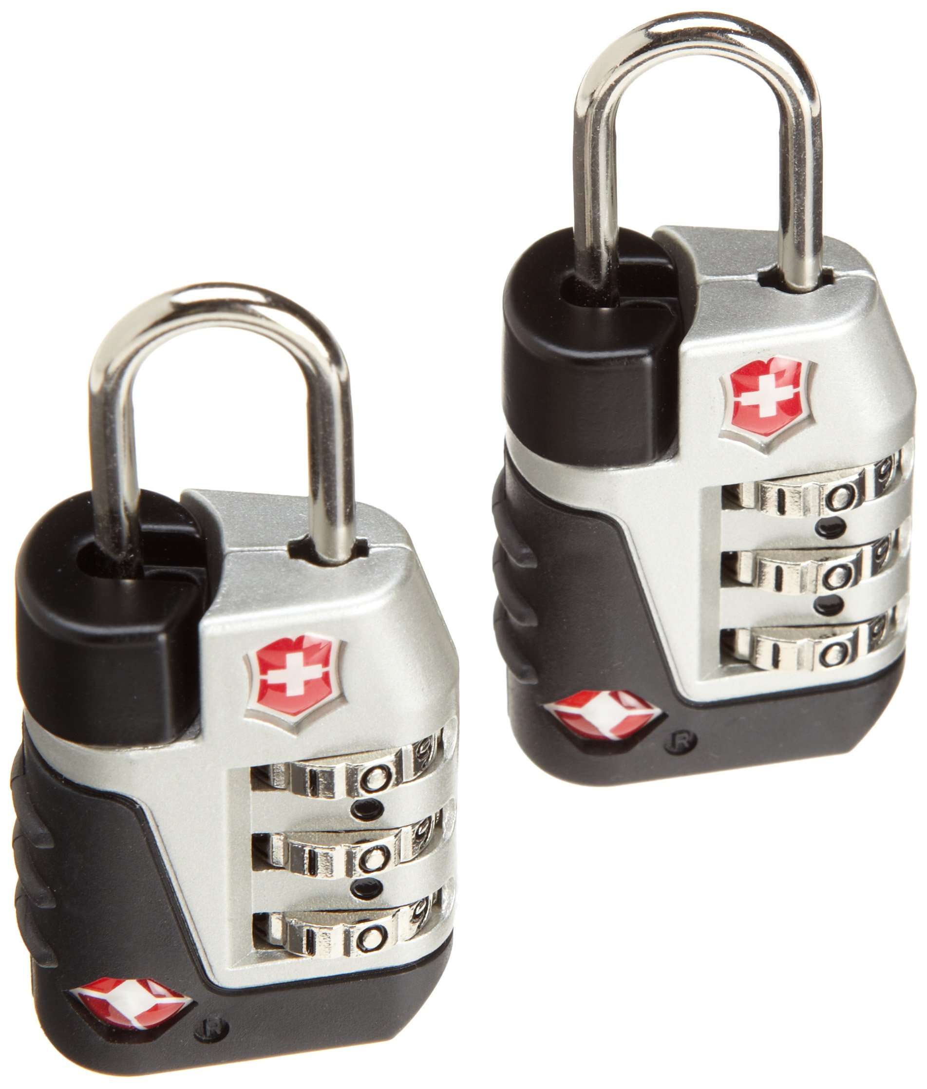 Victorinox  Travel Sentry Approved Lock Set,Silver,One Size