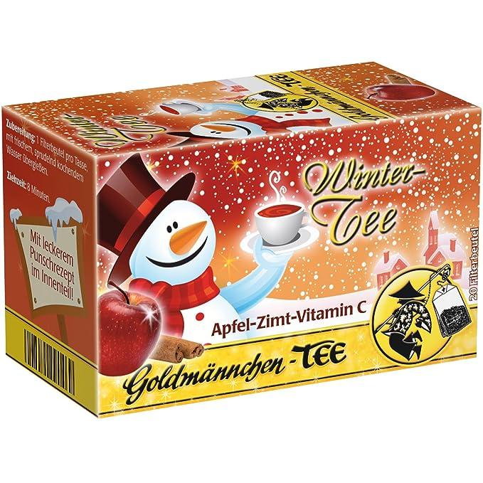 Goldmännchen Wintertee Apfel-Zimt-Vitamin C (Té Invernal de Manzana, Canela y