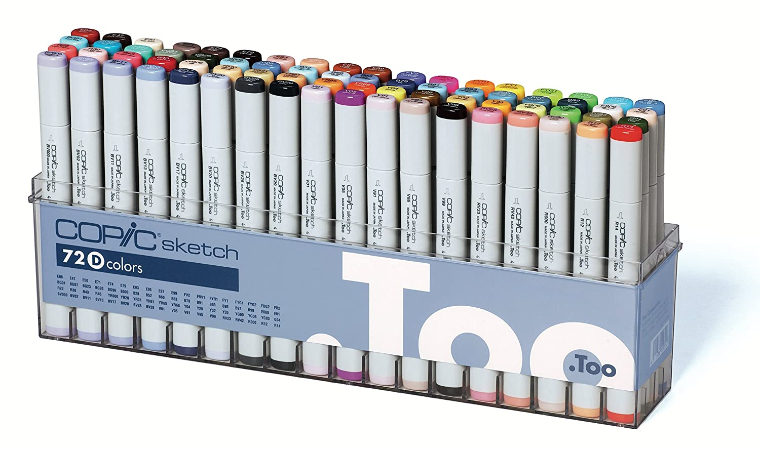 Copic Marker 72 Piece Sketch Set D Stationery Goods