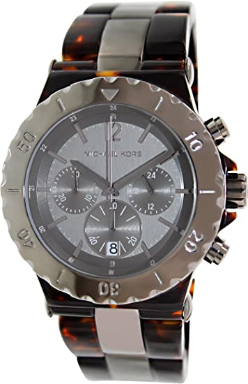 Michael Kors Reloj Cronógrafo para Hombre de Cuarzo con Correa en Aluminio MK5501: Michael Kors: Amazon.es: Relojes