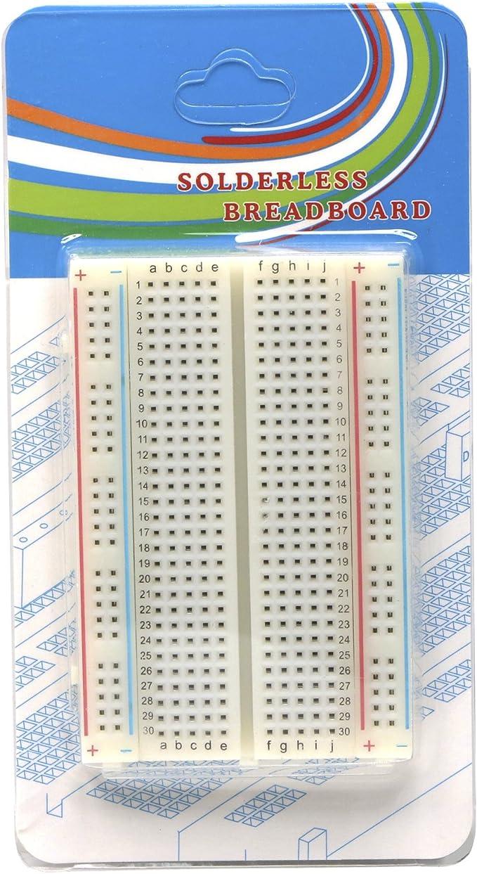 ELETTRONICA senza saldatura 400 PUNTO prototipazione breadboard-by Trixes