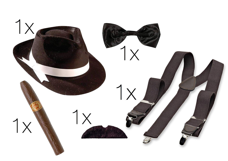 Tk Gruppe Timo Klingler Mafia Kostum Verkleidung Set Mafia Gangster